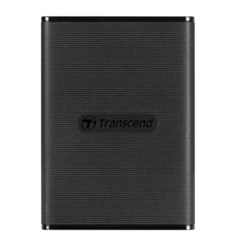 Памет SSD 240GB Transcend ESD230C, USB 3.1 Gen2, външно, преносимо, скорост на четене 520MB/s, скорост на запис 460MB/s, черно image