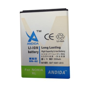 Батерия (заместител) Nokia XL, 2000mAh/3.7V image