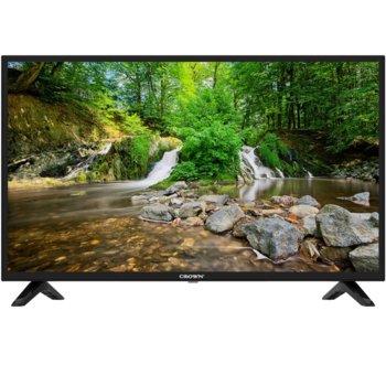 "Телевизор Crown 40J1100AFH, 40"" (101.6 cm) FULL HD LED LCD SMART TV, DVB-T/T2/C/MPEG4, Wi-Fi, 3x HDMI, USB, VGA, SCART image"