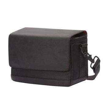 Чанта за фотоапарат Canon Shoulder SB100, за DSLR фотоапарат и аксесоари, черна image