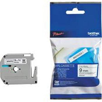 Лента за етикетни принтери BROTHER, ТИП M - 9 mm BLACK ON WHITE TAPE - P№: MK221BZ image