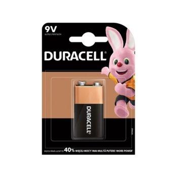 Батерия алкална Duracell, 6LR61, 9V, 1 бр. image