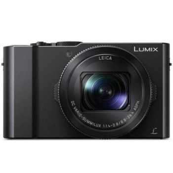 "Фотоапарат Panasonic LUMIX LX15 (черен), 3x optical zoom, 20.1 Mpix, 3.0"" (7.62cm) TFT дисплей, SD/SDHC/SDXC, Micro HDMI, Micro USB 2.0 image"