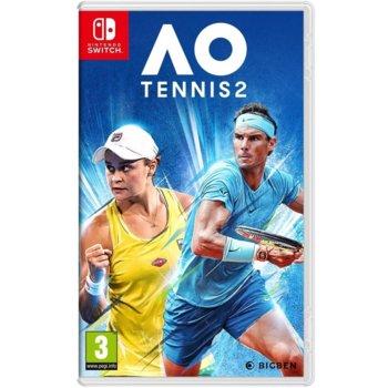 Игра за конзола AO Tennis 2, за Nintendo Switch image