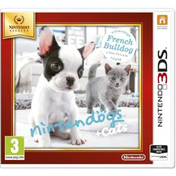 Nintendogs + Cats - French Bulldog  product