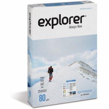 Хартия Explorer, A3, 80 g/m2, 500 листа, бяла image