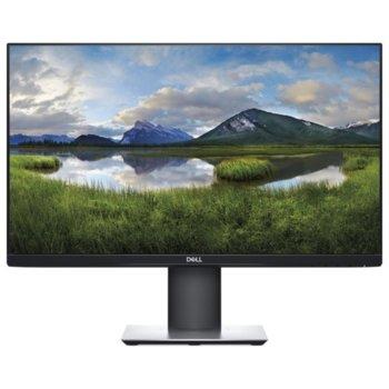 """Монитор Dell P2719HC, 27"""" (68.58 cm) IPS панел, Full HD, 5 ms, 300cd/m2, Display Port, HDMI, USB-C, 2x USB 3.0 image"""
