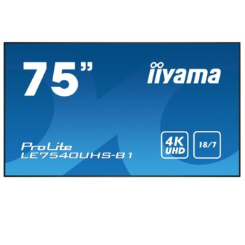 Iiyama LE7540UHS-B1 product