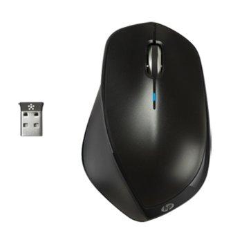 Мишка HP x4500, оптична, 1600dpi, безжична, черна, USB image