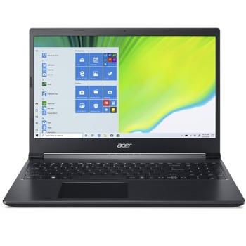 "Лаптоп Acer Aspire 7 A715-75G-577V (NH.Q9AEX.008), четириядрен Comet Lake Intel Core i5-10300H 2.5/4.5 GHz, 15.6"" (39.62 cm) Full HD IPS Anti-Glare Display & GF GTX 1650 Ti 4GB, (HDMI), 8GB DDR4, 512GB SSD, 1x USB Type-C, Linux image"