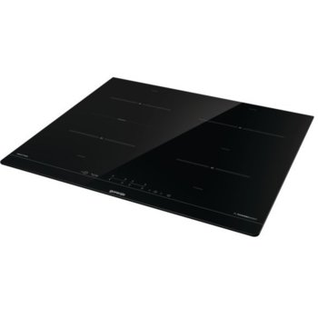 Индукционен плот за вграждане Gorenje IT643BSC, 4 нагревателни зони, PowerBoost Supreme, SmartControl управление, черен image