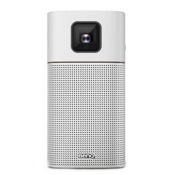 Преносим проектор BenQ GV1, DLP, WVGA, 100,000:1, 200 lm image