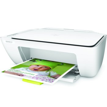 Мултифункционално мастиленоструйно устройство HP DeskJet 2130, цветен, принтер/копир/скенер, 1200 x 1200 dpi, 7.5 стр/мин, USB 2.0, A4 image