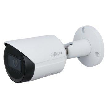 "IP камера Dahua IPC-HFW2431S-S-0280B-S2, насочена ""bullet"" камера, 4MPix (2688x1520@20fps), 2.8mm обектив, H.265+/H.265/H.264, IR осветеност (до 30 м.), външна IP67, PoE image"