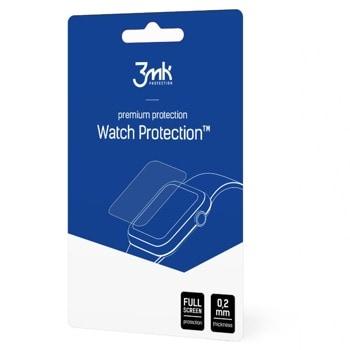 Протекторно фолио 3MK Watch Protection, за Apple Watch 6/SE 44mm, 3 бр. в опаковка image
