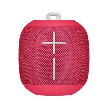 Тонколона Ultimate Ears Wonderboom, 2.0, Bluetooth, Wi-Fi, розова, до 10 часа време за работа, IPX7 защита image