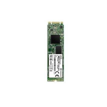 Памет SSD 128GB Transcend 830S, SATA III 6Gb/s, M.2 (2280), скорост на четене 560 MB/s, скорост на запис 520 MB/s image