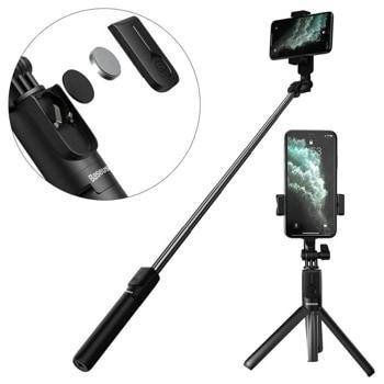 Селфи стик Baseus SUDYZP-F01, 20-65cm дължина, Bluetooth, черен image