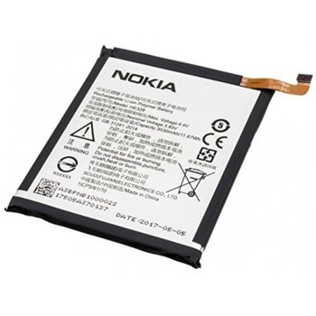 Батерия (оригинална) Nokia HE328, за Nokia 8, 3030mAh/3.85V, bulk package image
