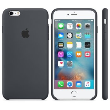 6s Plus Silicone Case - Charcoal Gray product