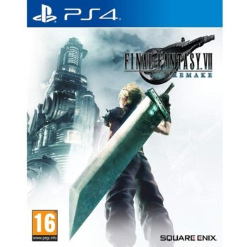 Игра за конзола Final Fantasy VII Remake, за PS4 image
