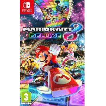 Игра за конзола Mario Kart 8 Deluxe, за Nintendo Switch image
