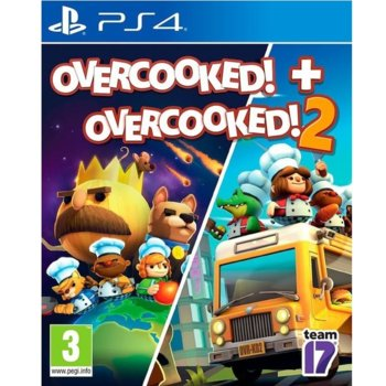 Игра за конзола Overcooked! + Overcooked! 2 - Double Pack, за PS4 image
