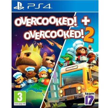 Игра за конзола Overcooked! + Overcooked! 2 - Double Pack, за PS4 image