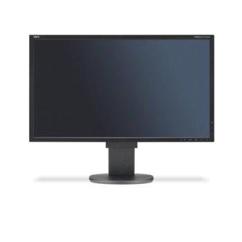 """Монитор 22"""" (55.88 cm) NEC MultiSync® EA224WMi, IPS панел, Full HD, 6 ms, 250cd/m2, 25000:1, DisplayPort, HDMI, DVI, USB image"""
