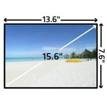 "Матрица за лаптоп Samsung LTN156AT32, 15.6"" (39.62) WXGAP+, 1366 x 768, гланц image"