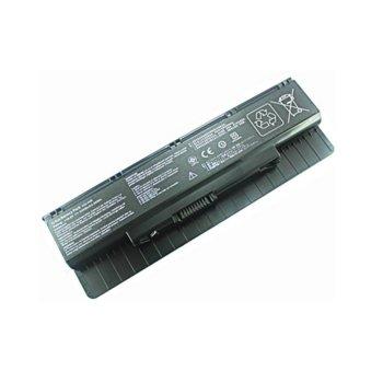 Батерия (заместител) за Asus съвместима с N46EI N46V N46VM N46VZ N56V N56VM N56VZ N56XI N76V N76VM N76VZ A31-N56 A32-N56, 10.8V, 4400mAh, 6 клетъчна Li-ion image