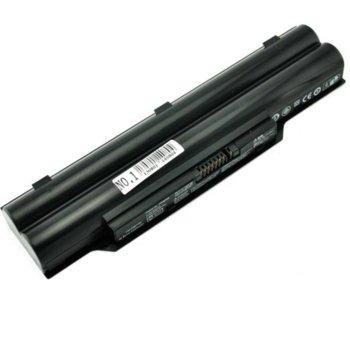 Батерия (заместител) за лаптоп Fujitsu, съвместима с модели LifeBook A512/A532/AH502/AH512/AH532/AH562, 6-cell, 10.8V, 5200mAh image
