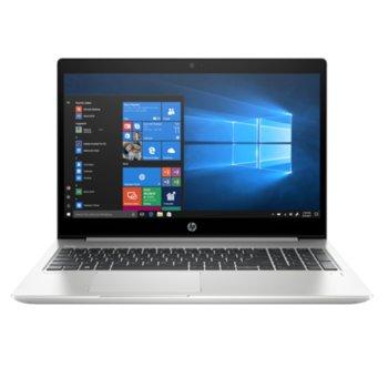 "Лаптоп HP ProBook 450 G6 (6BN31ES)(сребрист), четириядрен Whiskey Lake Intel Core i5-8265U 1.6/3.9 GHz, 15.6"" (39.62 cm) Full HD IPS Anti-Glare Display, (HDMI), 8GB DDR4, 256GB SSD, 1x USB 3.1 Type-C, Free DOS, 2.00 kg  image"