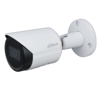 "IP камера Dahua IPC-HFW2531S-S-0360B-S2, насочена ""bullet"" камера, 5MPix (2592x1944@30fps), 3.6mm/F1.6 обектив, H.265+/H.264+/H.264/MJPEG, IR осветеност (до 30 м.), външна IP67, PoE image"