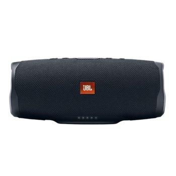 Тонколона JBL Charge 4, 2.0, 30W RMS, безжична, Bluetooth/AUX, черна, IPX7, до 20 часа работа image
