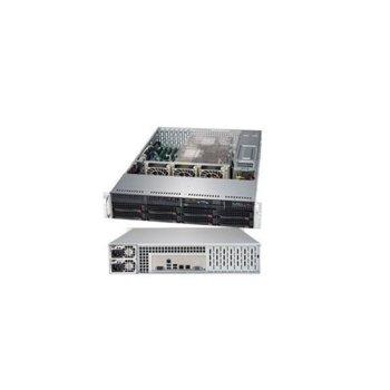 Сървър Supermicro AS-6029P-TR-OTO-18, десетядрен Cascade Lake Intel Xeon Silver 4210R 2.4/3.2 GHz, 16GB DDR4, 480GB SSD, 2x 1GbE, без ОС, 1000W redundant PSU image