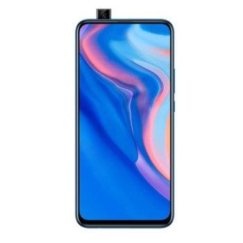 """Смартфон Huawei P Smart Z (син), поддържа 2 sim карти, 6.59"""" (16.73 cm) Full HD+ LTPS IPS LCD дисплей, осемядрен Hisilicon Kirin 710F 2.2GHz, 4GB RAM, 64GB ROM (+ micro SD слот), 16.0 MPix + 2.0 MPix & 16.0 MPix, Android 9.0 image"""