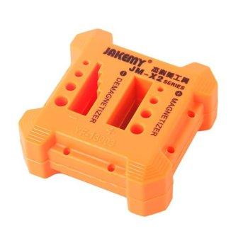 Магнетизатор/Демагнетизатор за отвертки Jakemy JM-X2, оранжев image