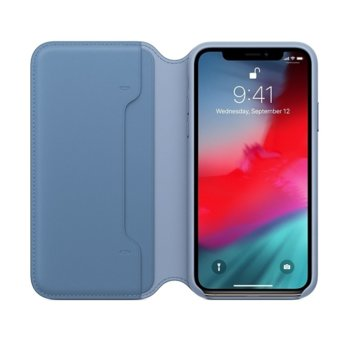 Apple iPhone XS Leather Folio - Cornflower product