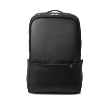 "Раница за лаптоп HP Duotone Gold Backpack 4QF96AA, до 15.6"" (39.62 cm), , черна/златиста image"