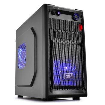 Кутия DeepCool SMARTER LED, Micro ATX/Mini-ITX, USB 3.0, черна, без захранване image