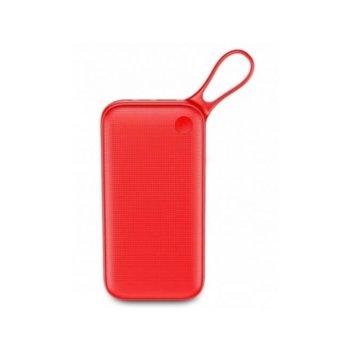 Външна батерия /power bank/ Baseus Powerful QC 3.0, 20 000 mAh, червена, USB Type C, 2x USB Type A, Quick Charge 3.0 image