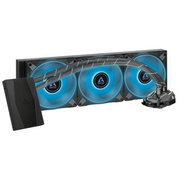 Водно охлаждане за процесор Arctic Freezer II RGB 420mm, RGB Controller, съвместимост със сокети Intel 1200/115X/2011-3/2066 & AM4 image