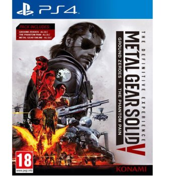 Игра за конзола Metal Gear Solid V: The Definitive Experience, за PS4 image