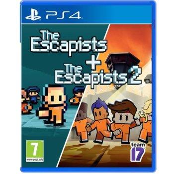 Игра за конзола The Escapists 1 + The Escapists 2 - Double Pack, за PS4 image
