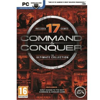 Command & Conquer: The Ultimate Collection, за PC product