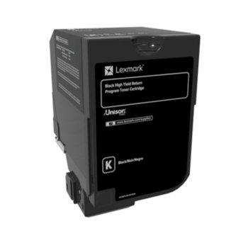 Касета за Lexmark CX725de / CX725dhe / CX725dthe - Black - P№ 84C2HK0 - заб.: 25 000k image