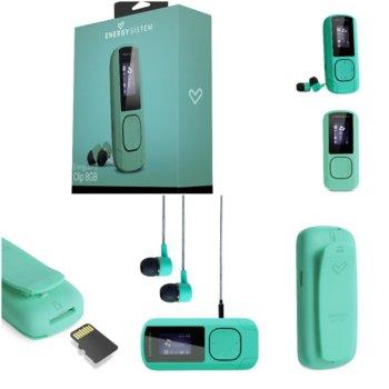 MP3 плейър Energy Sistem 42647, 8GB, 2.032cm дисплей, мента image