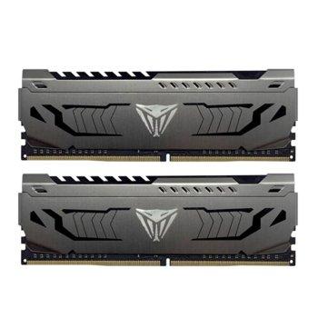 Памет 64GB (2x 32GB) DDR4 3600Mhz, Patriot Viper Steel PVS464G360C8K, 1.35V image