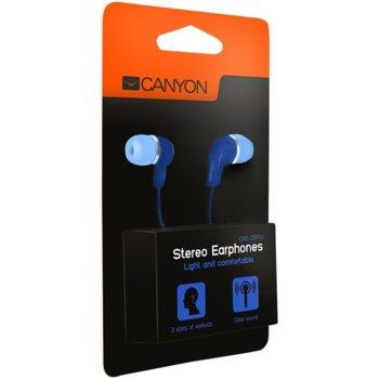 Слушалки Canyon CNS-CEPM02BL, сини image